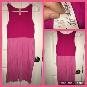 Dresses & Skirts - Pink comfy summer dress